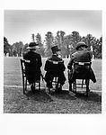 Eton family watching cricket, June, 1933