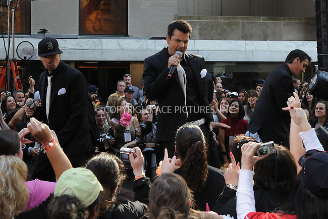 WWW.ACEPIXS.COM . . . . . ....May 8 2009, New York City....The New Kids On The Block perform live on NBC's 'Today' show at the Rockefeller Center on May 8, 2009 in New York City. ....Please byline: KRISTIN CALLAHAN - ACEPIXS.COM.. . . . . . ..Ace Pictures, Inc:  ..tel: (212) 243 8787 or (646) 769 0430..e-mail: info@acepixs.com..web: http://www.acepixs.com