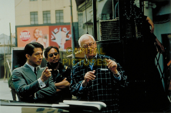 HIROYUKI SANADA & JAMES IVORY (FILMMAKER).on the set of The White Countess.Filmstill - Editorial Use Only.CAP/AWFF.www.capitalpictures.com.sales@capitalpictures.com.Supplied By Capital Pictures.