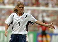 Mia Hamm, 2003 WWC USA Sweden.