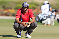 Pablo Larrazabal (ESP) on the 17th green during Sunday's Final Round of the 2018 Turkish Airlines Open hosted by Regnum Carya Golf &amp; Spa Resort, Antalya, Turkey. 4th November 2018.<br /> Picture: Eoin Clarke | Golffile<br /> <br /> <br /> All photos usage must carry mandatory copyright credit (&copy; Golffile | Eoin Clarke)
