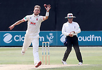 Aaron Beard of Essex takes a catch off his own bowling during Essex CCC vs Warwickshire CCC, Specsavers County Championship Division 1 Cricket at The Cloudfm County Ground on 16th July 2019