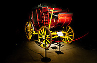 An old carriage on display at the Old West Museum in Cheyenne, Wyoming, Thursday, June 2, 2011.  The museum celebrates Frontier Days which occurs at the end of July...Photo by Matt Nager
