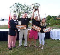 2014 Etchells Worlds Trophy Presentation