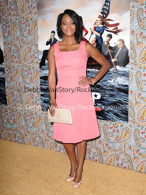 Sufe Bradshaw attends The Los Angeles Premiere for the third season of HBO's series VEEP held at Paramount Studios in Hollywood, California on March 24,2014                                                                               © 2014 Hollywood Press Agency