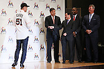 Ichiro Suzuki (Marlins), JANUARY 29, 2015 - MLB : Miami Marlins newly signed outfielder Ichiro Suzuki attends an introductory news conference in Tokyo, Japan. (Photo by Sho Tamura/AFLO SPORT)