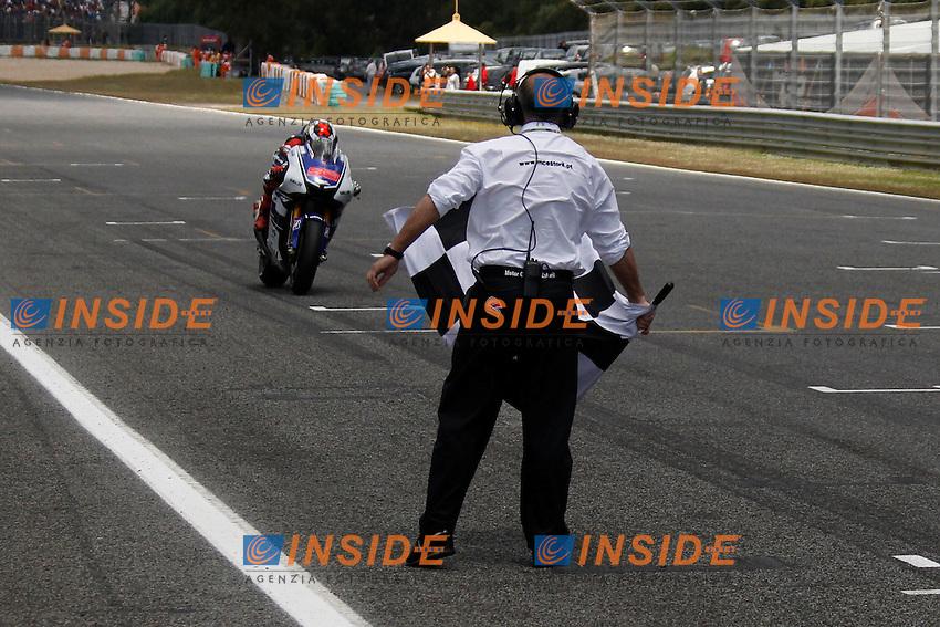 .06-05-2012 Estoril (POR).Motogp - moto.in the picture: Jorge Lorenzo - Yamaha factory team