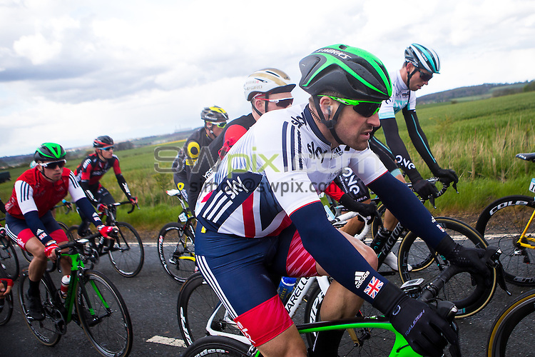 Picture by Alex Whitehead/SWpix.com - 30/04/2016 - Cycling - Tour de Yorkshire, Stage 2: Otley to Doncaster - Yorkshire, England - Great Britain's Ian Wilkinson in action.