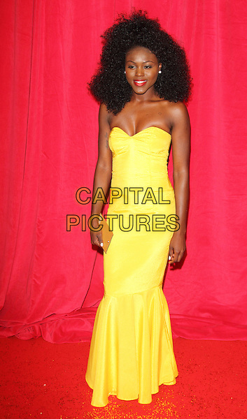 LONDON, ENGLAND - MAY 24: Modupe Adeyeye attends the British Soap Awards at Hackney Empire on May 24, 2014 in London, England<br /> CAP/ROS<br /> &copy;Steve Ross/Capital Pictures