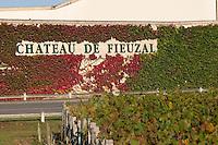 The winery building chateau fieuzal pessac leognan graves bordeaux france