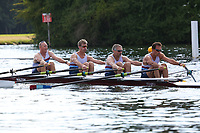 Race: 326  MasD.4x-  Final<br /> 85  Walton Rowing Club<br /> 86  Bewl Bridge Rowing Club<br /> <br /> Henley Masters Regatta 2018 - Saturday<br /> <br /> To purchase this photo, or to see pricing information for Prints and Downloads, click the blue 'Add to Cart' button at the top-right of the page.