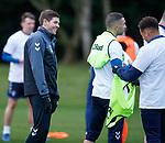 23.11.2018 Rangers training: Steven Gerrard