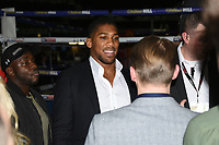 Anthony Joshua meets fans during a Boxing Show at The O2 on 3rd February 2018