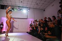 SÃO PAULO, SP, 10.11.2015 - Dani Sperle representante do Rio de Janeiro durante a quinta edição do concurso Miss Bumbum no bairro de Perdizes na região oeste da cidade de São Paulo na noite de ontem segunda-feira, 09. (Foto: William Volcov/Brazil Photo Press)