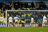 GOAL - Lee Gregory of Millwall scores during the Sky Bet Championship match between Millwall and Sheff Wednesday at The Den, London, England on 20 February 2018. Photo by Carlton Myrie.