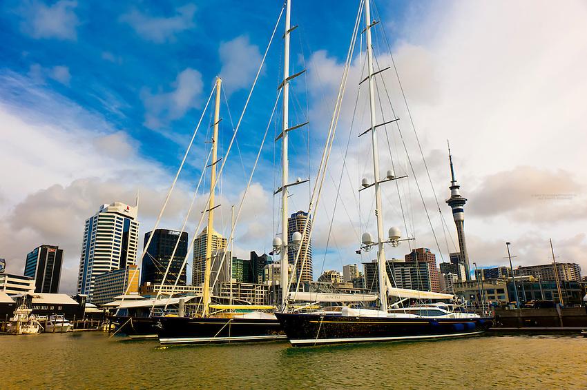 Viaduct Harbor, Auckland, New Zealand
