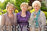 Pictured at the Enable Ireland Ladies Luncheon in the Earl of Desmond Hotel, Tralee on Friday, from left: Peggy King, Bridie O'Sullivan and Nora Sheehy, all from Tralee..