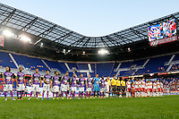 Harrison, NJ - Wednesday Aug. 03, 2016: Antigua, New York Red Bulls during a CONCACAF Champions League match between the New York Red Bulls and Antigua at Red Bull Arena.