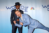 """LOS ANGELES - JAN 30:  Ne-Yo, Derek Hough at the """"World of Dance"""" Season 2 Photocall at the Universal Studios Stage 22 on January 30, 2018 in Universal City, CA"""