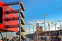 Construção da nova sede do governo em Berlim. Alemanha. 2000. Foto de Ricardo Azoury.