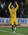 21/12/2008  Copyright Pic: James Stewart.File Name : sct_jspa10_falkirk_v_celtic.SCOTT MCDONALD CELEBRATES AFTER HE SCORES CELTIC'S THIRD.James Stewart Photo Agency 19 Carronlea Drive, Falkirk. FK2 8DN      Vat Reg No. 607 6932 25.Studio      : +44 (0)1324 611191 .Mobile      : +44 (0)7721 416997.E-mail  :  jim@jspa.co.uk.If you require further information then contact Jim Stewart on any of the numbers above.........