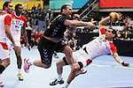 Mladen Rakcevic vs Gharbi. TUNISIA vs MONTENEGRO: 27-25 - Preliminary Round - Group A