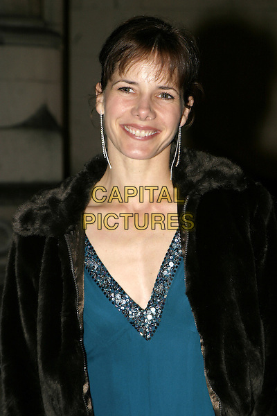 DARCY BUSSELL.Great Britons 2004  at The Royal Courts Of Justice..January 27th, 2005.headshot, portrait, sequined trim top dangling earrings.www.capitalpictures.com.sales@capitalpictures.com.© Capital Pictures.