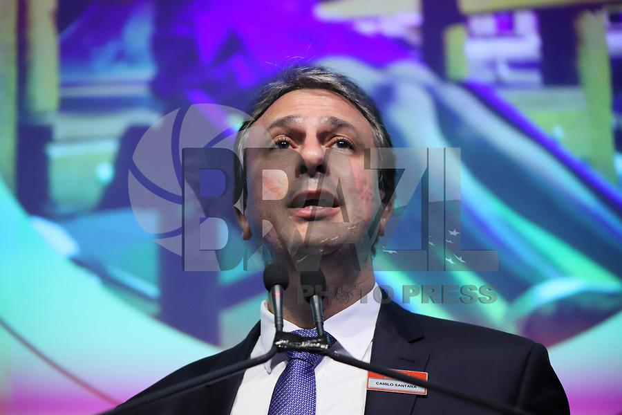 SÃO PAULO, SP, 05.11.2019 - POLITICA-SP - Camilo Santana, Governador do Ceará, participa do 6° Fórum Lide de Educação, no Hotel Hilton Morumbi, em São Paulo, nesta terça-feira, 5. (Foto Charles Sholl/Brazil Photo Press/Folhapress)