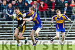 Brian Looney Dr Crokes in action against Kieran O'Neill Kenmare District in the Senior County Football Championship final at Fitzgerald Stadium on Sunday.