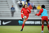 Boyds, MD - Saturday May 6, 2017: Lindsay Elizabeth Agnew prior to a regular season National Women's Soccer League (NWSL) match between the Washington Spirit and Sky Blue FC at Maureen Hendricks Field, Maryland SoccerPlex.
