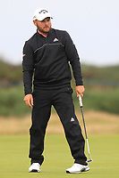 Jordan Smith (ENG) on the 14th green during Round 4 of the Alfred Dunhill Links Championship 2019 at St. Andrews Golf CLub, Fife, Scotland. 29/09/2019.<br /> Picture Thos Caffrey / Golffile.ie<br /> <br /> All photo usage must carry mandatory copyright credit (© Golffile | Thos Caffrey)