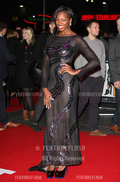 Jamelia arriving for the World Premiere of Gambit, at the Empire Leicester Square, London. 07/11/2012 Picture by: Alexandra Glen / Featureflash