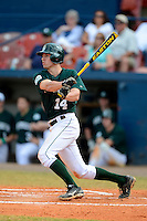 Dartmouth Big Green infielder Trent Goodrich (14) during a game against the University of Alabama at Birmingham Blazers at Chain of Lakes Stadium on March 17, 2013 in Winter Haven, Florida.  Dartmouth defeated UAB 4-0.  (Mike Janes/Four Seam Images)