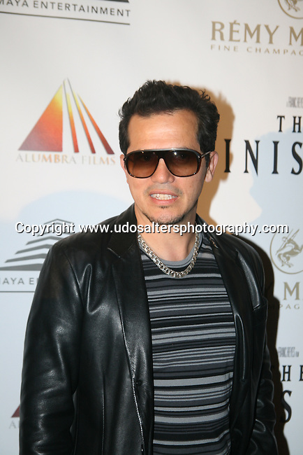 """Actor John Leguizamo Attends """"THE MINISTERS"""" Film Premiere.Starring John Leguizamo And Harvey Keitel At Lowes Lincoln SQUARE, Photo by Derrick Salters October13, 2009."""