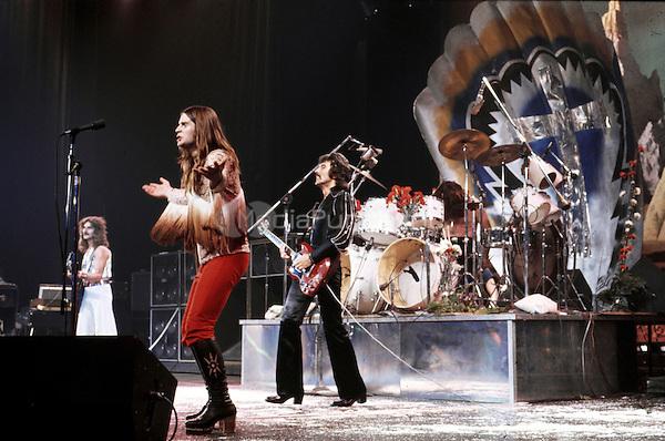 Ozzy Osbourne of Black Sabbath<br /> 1978<br /> &copy; Andrew Kent/Retna/MediaPunch