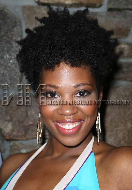 Marinda Anderson attending the Opening After Party for the Playwrights Horizons World Premiere production of the new musical 'FAR FROM HEAVEN' at Tir Na Nog Irish Pub & Grill  in New York City on June 02, 2013.