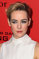 "NEW YORK, NY - NOVEMBER 20: Jena Malone at the New York Premiere Of Lionsgate's ""The Hunger Games: Catching Fire"" held at AMC Lincoln Square Theater on November 20, 2013 in New York City. (Photo by Jeffery Duran/Celebrity Monitor)"