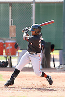 Leonardo Ochoa, San Francisco Giants 2010 minor league spring training..Photo by:  Bill Mitchell/Four Seam Images.