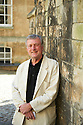 T D Griggs  novelist and writer of Distant Thunder   at The Oxford Literary Festival at Christchurch College Oxford  . Credit Geraint Lewis