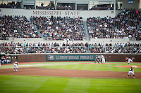 Baseball vs. Texas A&amp;M - Super Bulldog Weekend.<br />  (photo by Megan Bean / &copy; Mississippi State University)