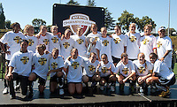 FC Gold Pride defeated the Philadelphia Independence 4-0 to win the 2010 WPS Championship at Pioneer Stadium in Hayward, California on September 26th, 2010.