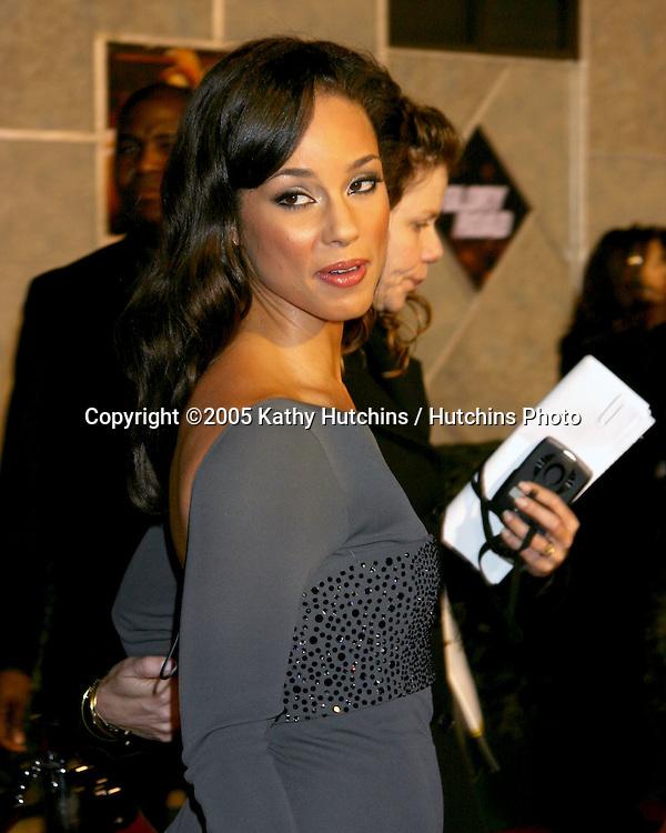 "Alicia Keys.""Glory Road"" Premiere.Pantages Theater.January 5, 2006.©2006 Kathy Hutchins / Hutchins Photo...."