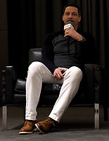 """WEST HOLLYWOOD - FEBRUARY 15: Moderator Chris Broussard on the Q&A panel following the LA screening of Fox Sports """"Shot in the Dark"""" at the Pacific Design Center on February 15, 2018 in West Hollywood, California.(Photo by Frank Micelotta/Fox/PictureGroup)"""