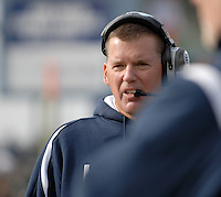 Former UCONN Head football coach Randy Edsall.  Edsall is not the head coach at Maryland.