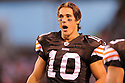 BRADY QUINN, of the Cleveland Browns in action  during the Browns  game against the Detroit Lions on August 22, 2009 in Chicago, IL  The Browns beat  the Lions 27-10.