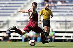 28 August 2016: Elon's Nick Adamczyk. The Elon University Phoenix played the University of San Diego Toreros at Koskinen Stadium in Durham, North Carolina in a 2016 NCAA Division I Men's Soccer match. USD won the game 2-1.