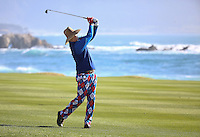 160213 Actor and comedian Bill Murray during Saturday's Third Round of The AT&T National Pro Am at The Pebble Beach Golf Links in Carmel, California. (photo credit : kenneth e. dennis/kendennisphoto.com)