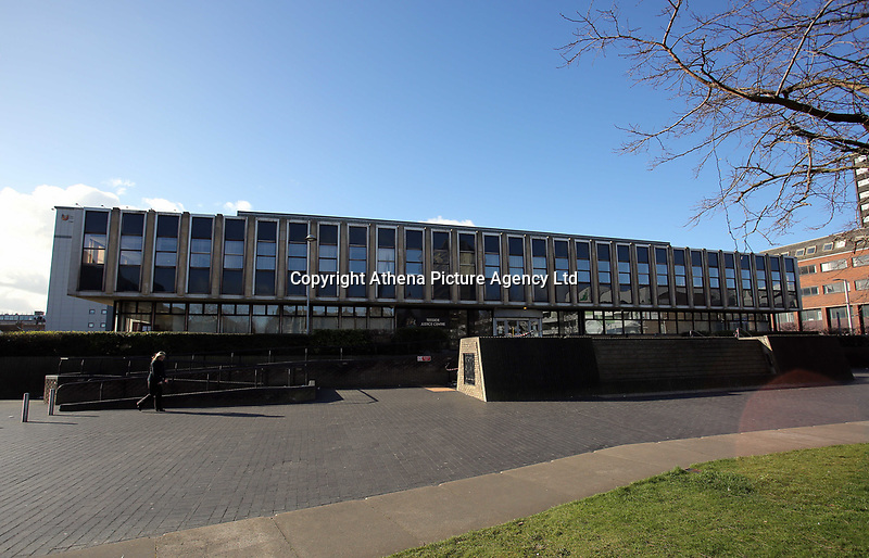 Pictured: Teesside Justice Centre in Middlesbrough. Tuesday 21 March 2017<br />