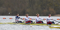 Caversham. Berkshire. UK<br /> Bow, Chris BARTLEY, Jonno CLEGG, Mark ALDRED and Peter CHAMBERS.,<br /> 2016 GBRowing European Team Announcement,  <br /> <br /> Wednesday  06/04/2016 <br /> <br /> [Mandatory Credit; Peter SPURRIER/Intersport-images]