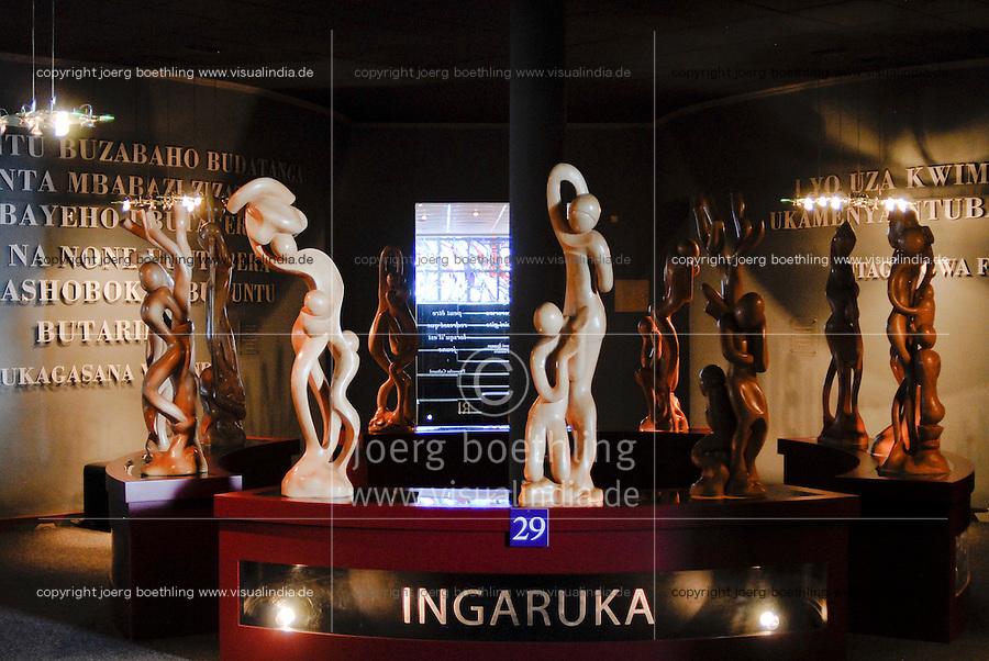 Rwanda Kigali Genocide memorial , during the genocide in april 1994 nearly 1 Billion Tutsi were massacred by Hutu murder / Ruanda Kigali , Genozid Gedaenkstaette, Ausstellung und Mahnmal fuer die Opfer des Genozid  , waehrend des Voelkermord wurden ca. 1 Million Tutsi im April 1994 von Hutu Milizen erschlagen